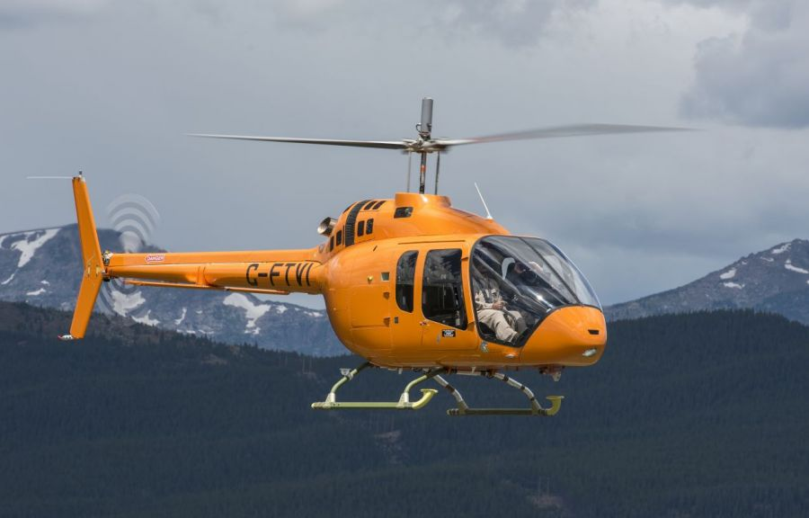 The Bell 505 Jet Ranger X is the Last of its Generation