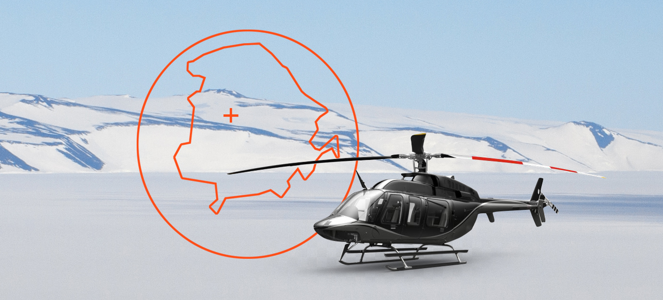 From North to South: a Dream Helicopter Adventure